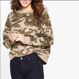 Universal Thread Camo Crewneck Sweatshirt, Large.